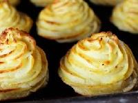 розочки из картофеля, картофельные розочки, приготовить картофельные розочки