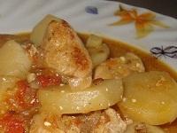 картофель с вином, картофель в винном соусе, картофель в винном соусе фото, как готовить картофель в вине