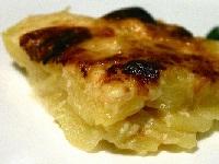 картофельно-луковый гратен, как готовить картофельный гратен, гратен из картошки, картофель запеченный в духовке