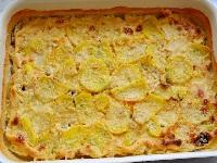 картофельный гратен, как приготовить картофельный гратен, картофельный гратен фото