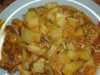 тушеный картофель с луком, тушеный картофель с луком фото, как тушить картофель, как тушить картофель с луком
