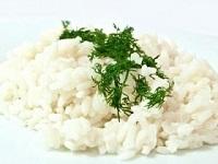 Отварной рис со сливочным маслом и зеленью, рис с зеленью, рис с маслом и зеленью, фото ингредиенты