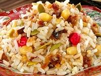 Рисовая каша с орехами, Рисовая каша с орехами фото, Рисовая каша с орехами рецепт